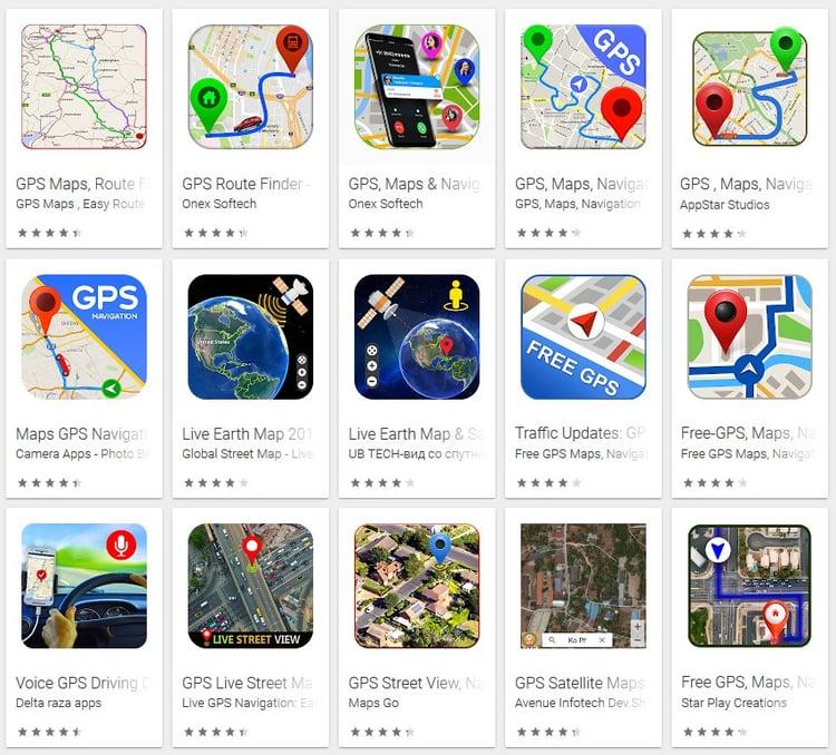 GPS-fake