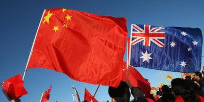Aussies vs China
