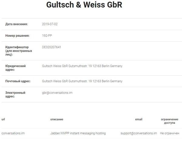 Gultsch and Weiss