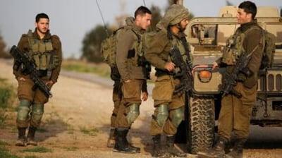 Israel troops