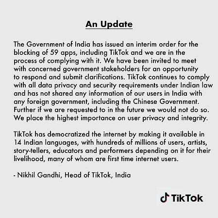 No tik in India
