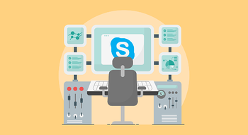 Skype wired