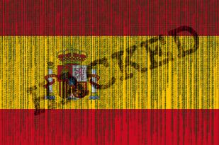 Spain hacked