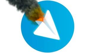 Telegram down