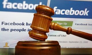 facebook in court