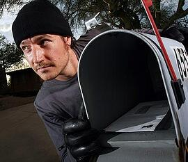 stealing mail