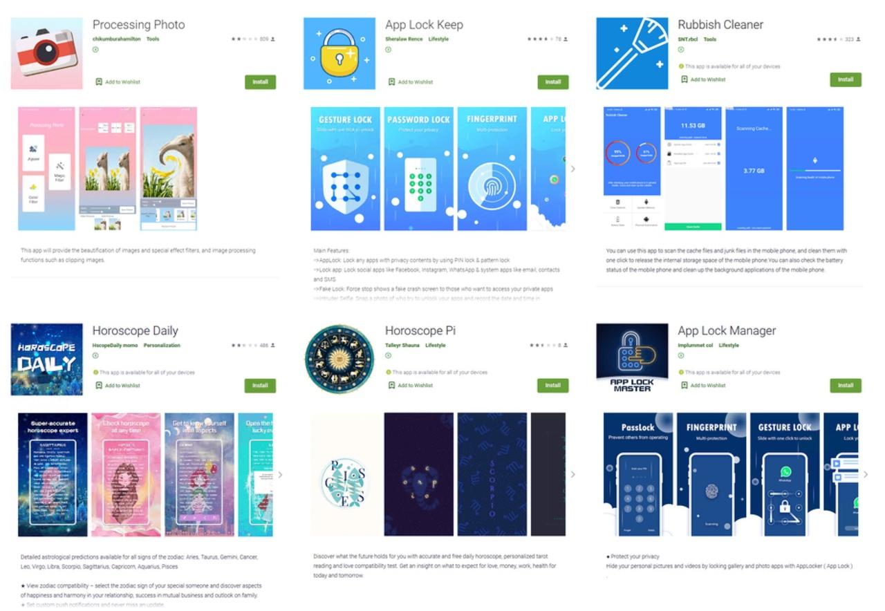 Вредоносные приложения из Google Playкрадут логины и пароли пользователейFacebook