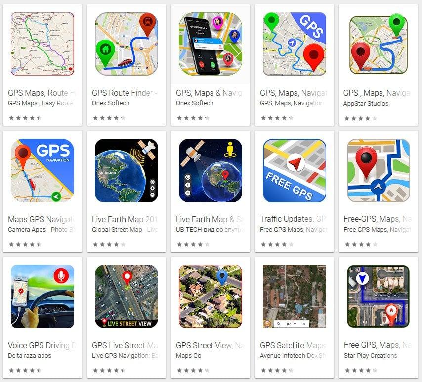 Фальшивые GPS-приложения в Google Play Store были загружены 50 млн раз