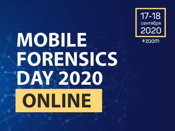 Mobile Forensics Day 2020 Online