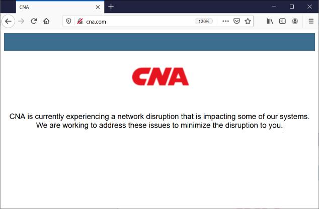 Страховая компания CNA стала жертвой нового вымогателя Phoenix CryptoLocker
