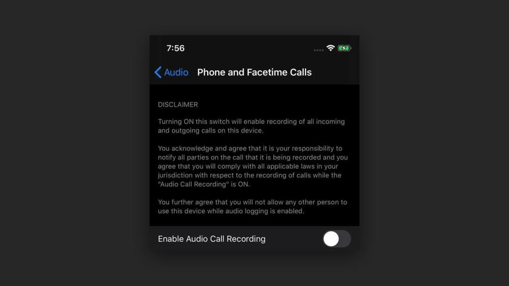 Слух: в iOS 14 реализуют запись разговоров