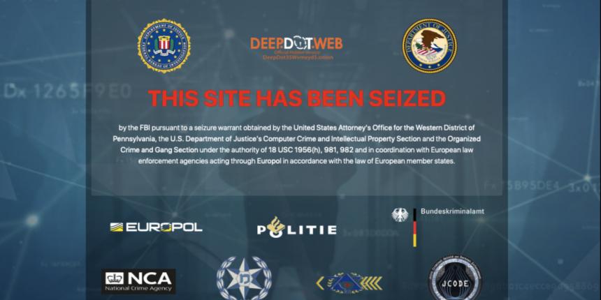 ФБР и европейские правоохранители закрыли сайт новостей о даркнете DeepDotWeb