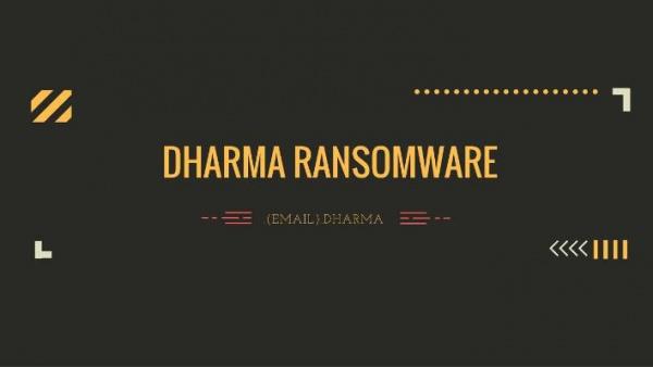 Dharma - самый успешный из существующих вымогателей