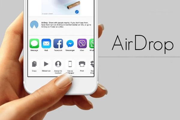 Номер телефона iPhone можно узнать через AirDrop