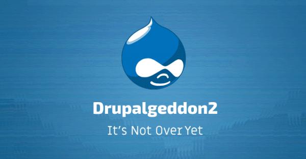 Исправленная полтора года назад уязвимость Drupalgeddon2 используется в атаках