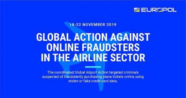 Европол задержал 79 человек по подозрению в online-мошенничестве с авиабилетами