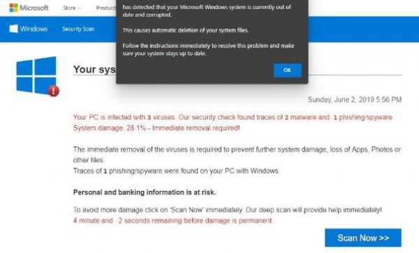 Приложения из Microsoft Store распространяют мошенническую рекламу инструментов кибербезопасности