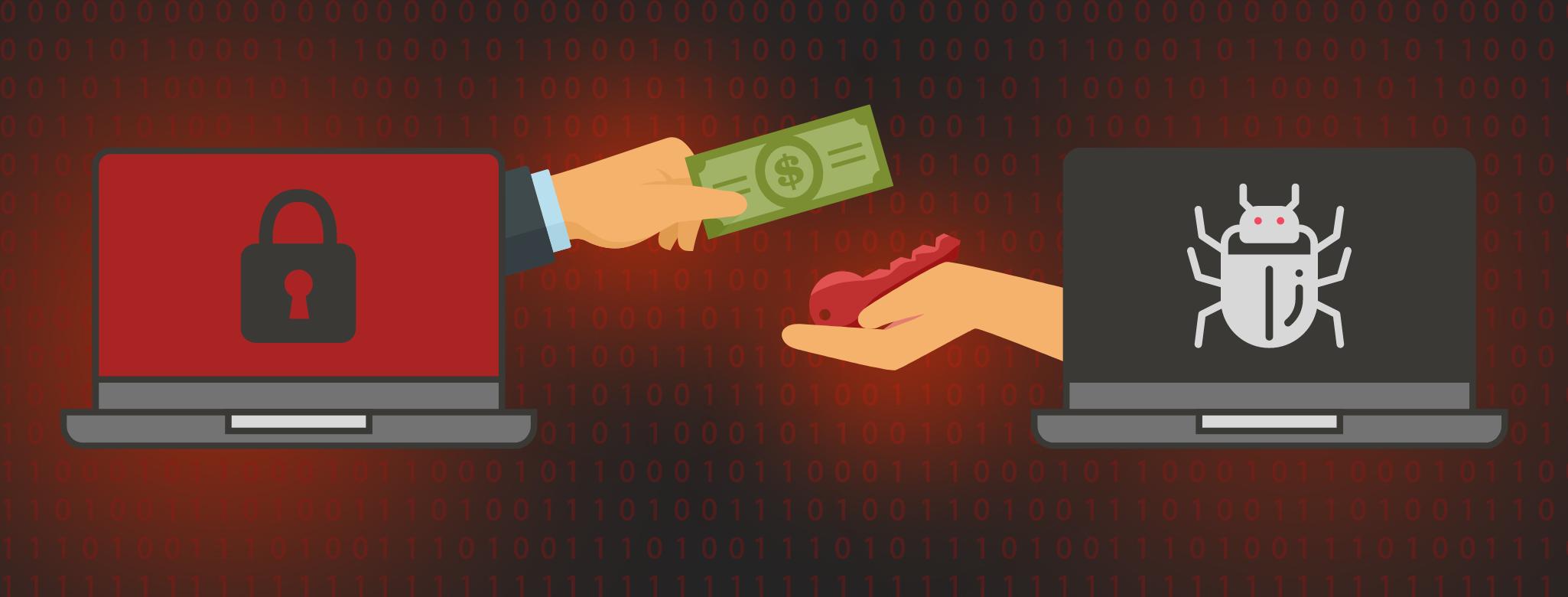 В первой половине 2021 года вымогатели в США провели транзакции на сумму в $590 млн