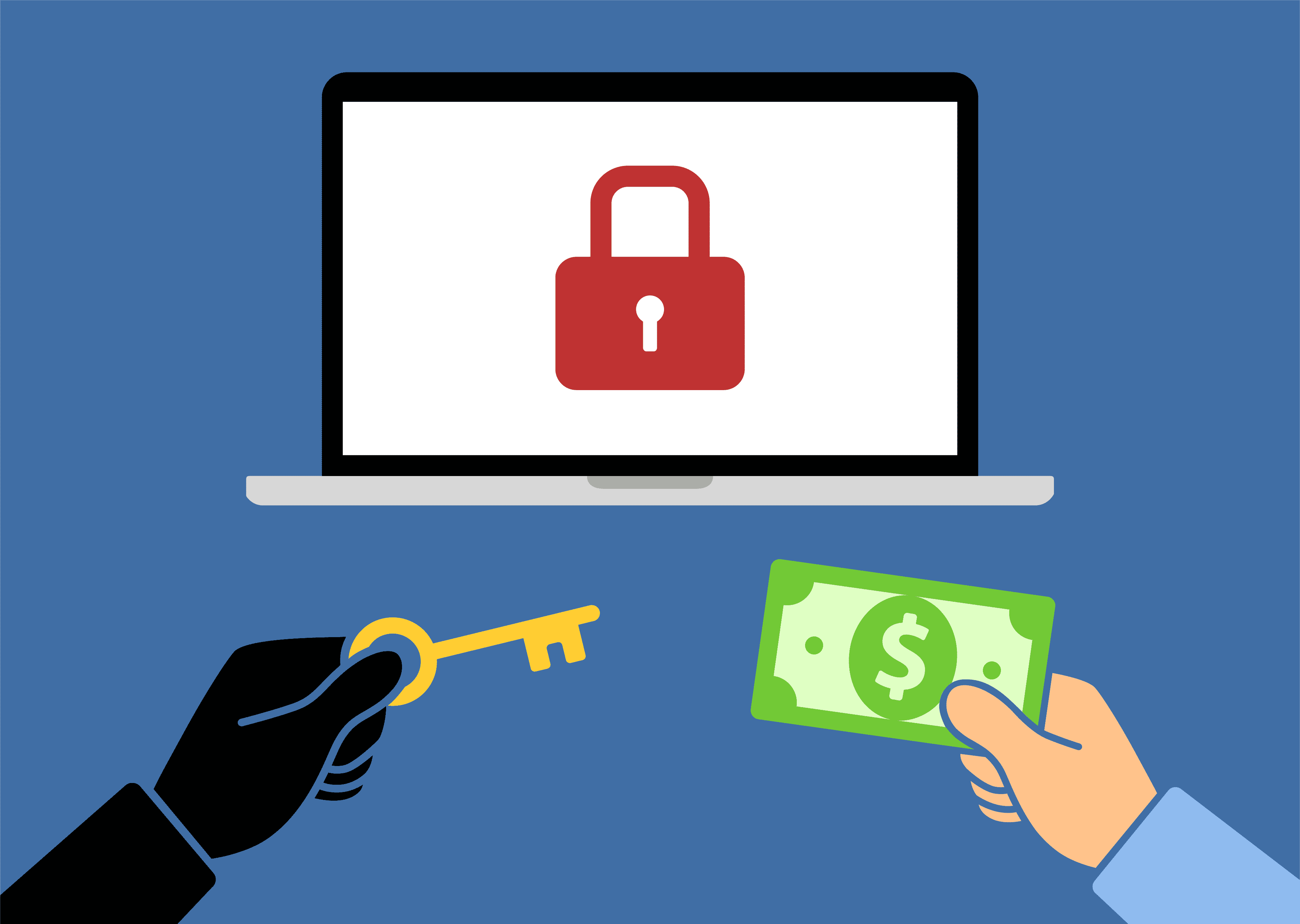 Вымогатели не всегда удаляют украденные данные после оплаты выкупа
