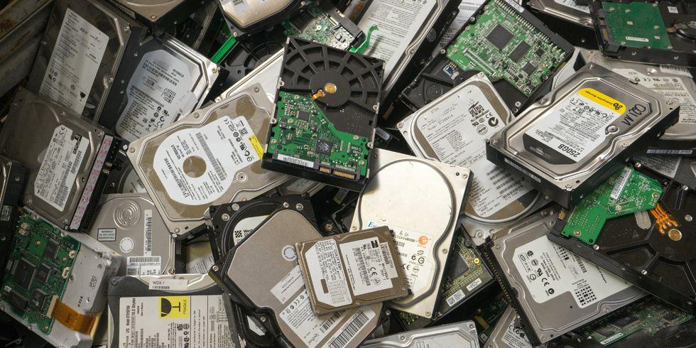 Большинство б/у жёстких дисков содержат данные предыдущих владельцев