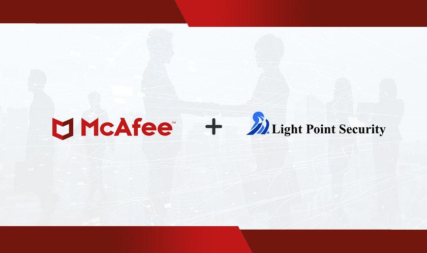 McAfee приобретает компанию Light Point Security