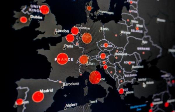 Преступники распространяют вредоносное ПО под видом карты распространения коронавируса