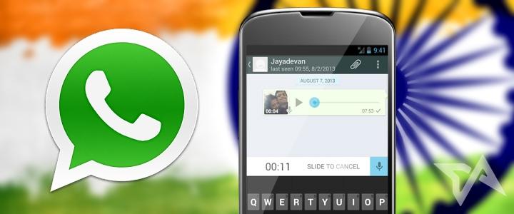 Индийским военнослужащим запретили состоять в группах WhatsApp