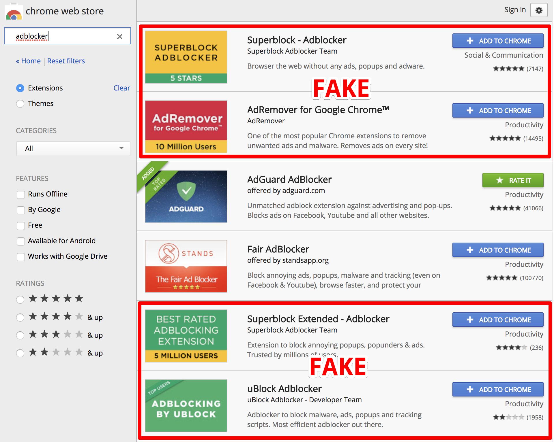 Google внедрит новые правила магазина Chrome web store. В итоге из магазина могут пропасть тысячи расширений