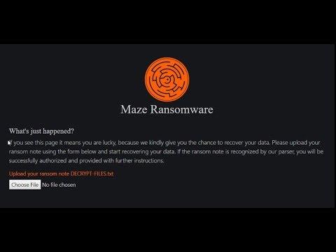 Корпорация Cognizant стала жертвой вымогателей Maze